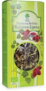 Herbatka Lipowo - Malinowa Bio 80 g - Dary Natury