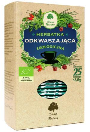 Herbatka Odkwaszająca Bio (25 x 2 G) - Dary Natury