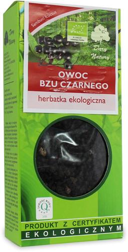 Herbatka Owoc Bzu Czarnego Bio 100 g - Dary Natury