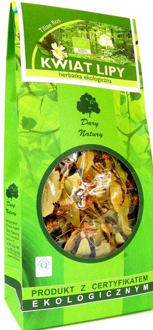 Herbatka z Kwiatu Lipy Bio 30 g - Dary Natury