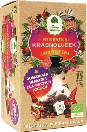 Herbatka Dla Dzieci Krasnoludek Piramidki Bio 15X3 g - Dary Natury