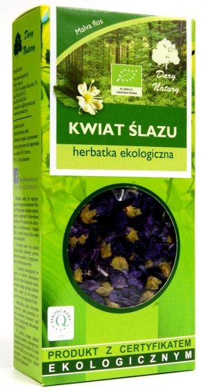 Herbatka z Kwiatu Ślazu Bio 20 g - Dary Natury