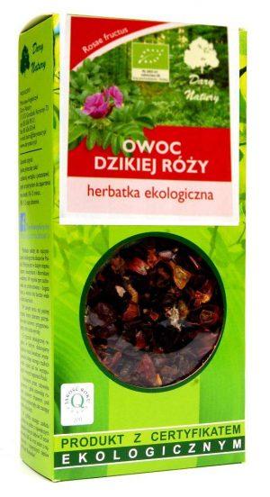 Herbatka Owoc Dzikiej Róży Bio 50 g - Dary Natury