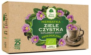 Herbatka Ziele Czystka Bio (25 x 2 G) - Dary Natury