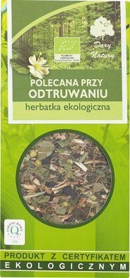Herbatka Polecana Przy Odtruwaniu Bio 50 g - Dary Natury