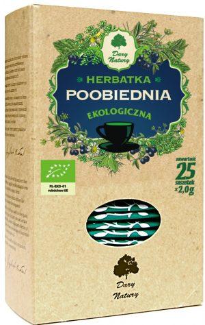 Herbatka Poobiednia Bio (25 x 2 G) - Dary Natury