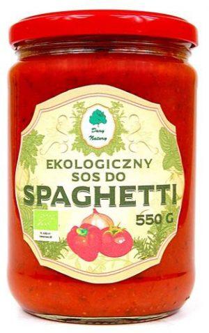 Sos Do Spaghetti Bio 550 g - Dary Natury