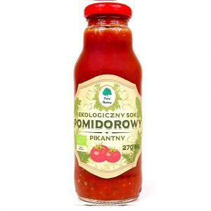 Sok Pomidorowy Pikantny Bio 270 Ml - Dary Natury