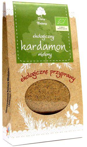 Kardamon Mielony Bio 50 g - Dary Natury