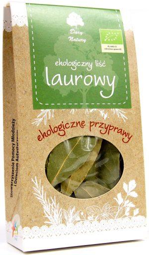 Liść Laurowy Bio 10 g - Dary Natury