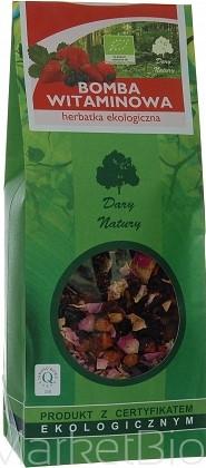 Herbatka Bomba Witaminowa Bio 200 g - Dary Natury