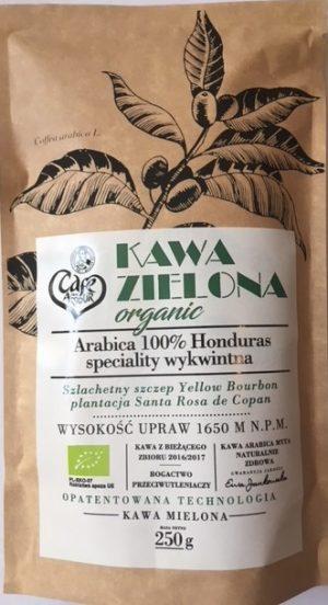 Kawa Zielona Mielona Organic 250 g - Cafe Mon Amour