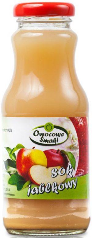 Sok Jabłkowy Bio 250 Ml - Owocowe Smaki