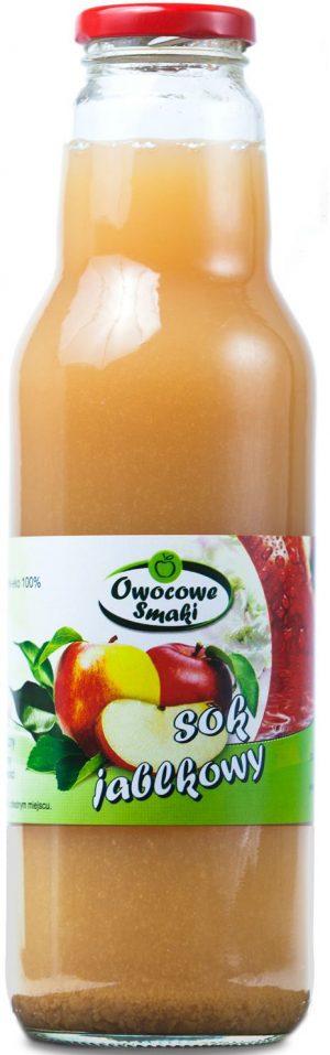 Sok Jabłkowy Bio 750 Ml - Owocowe Smaki