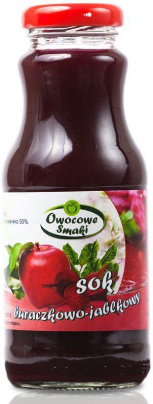 Sok Buraczkowo-Jabłkowowy Bio 250 Ml - Owocowe Smaki