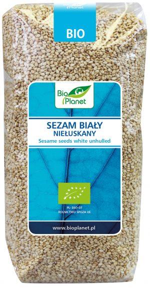 Sezam Biały Niełuskany Bio 500 g - Bio Planet