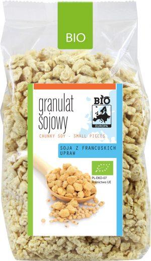 Granulat Sojowy Bio 200 g - Bio Europa