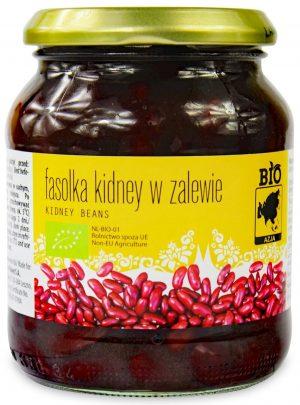 Fasolka Kidney w Zalewie w Słoiku Bio 350 g (215 G) - Bio Azja