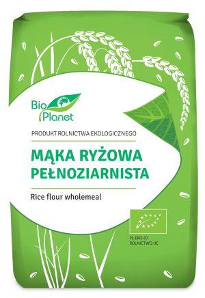 Mąka Ryżowa Pełnoziarnista Bio 1 Kg - Bio Planet