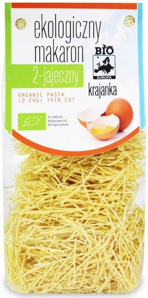 Makaron (2-Jajeczny) Krajanka Bio 250 g - Bio Europa