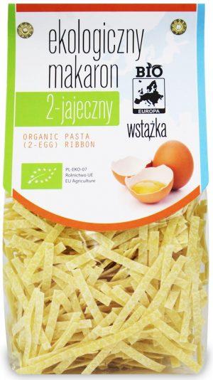 Makaron (2-Jajeczny) Wstążka Bio 250 g - Bio Europa