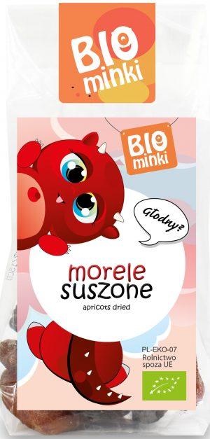Morele Suszone Bio 100 g - Biominki