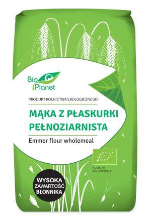 Mąka z Płaskurki Pełnoziarnista Bio 500 g - Bio Planet