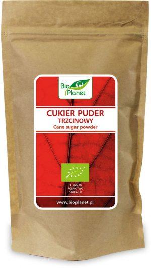 Cukier Puder Trzcinowy Bio 300 g - Bio Planet