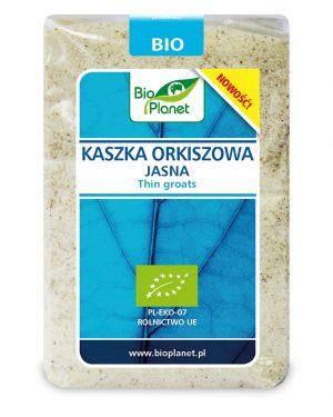 Kaszka Orkiszowa Jasna Bio 400 g - Bio Planet