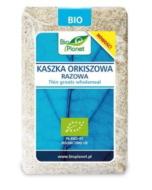Kaszka Orkiszowa Razowa Bio 400 g - Bio Planet