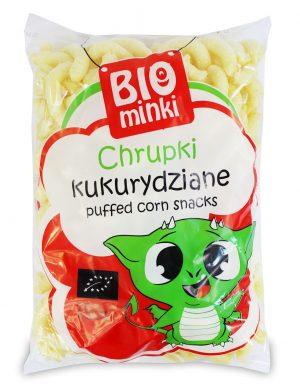 Chrupki Kukurydziane Bio 150 g - Biominki