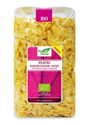 Płatki Kukurydziane Jasne Bio 250 g - Bio Planet