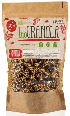 Granola z Goji Bio 320 g - Papagrin
