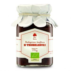 Konfitura z Truskawki Bio 170 g - Dary Natury