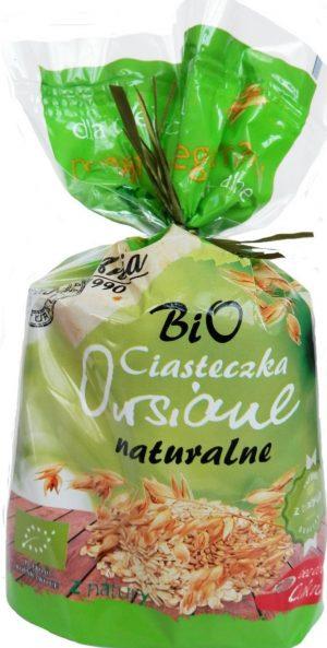 Ciasteczka Owiasne Naturalne Bez Dodatku Cukrów Bio 150 g - Bio Ania