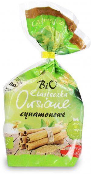 Ciasteczka Owisiane Cynamonowe Bez Dodatku Cukrów Bio 150 g - Bio Ania