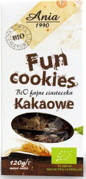 Fun Cookies Kakaowe Bio 120 g - Bio Ania