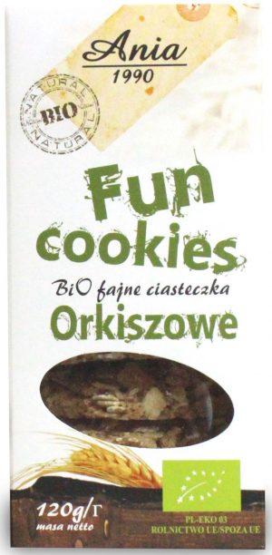 Fun Cookies Orkiszowe Bio 120 g - Bio Ania