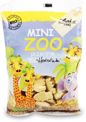Ciasteczka Mini Zoo Bio 100 g - Bio Ania