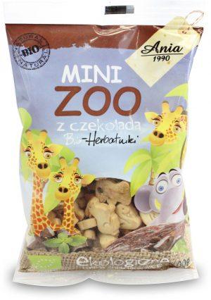 Ciasteczka z Czekoladą Mini Zoo Bio 100 g - Bio Ania