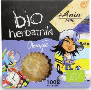 Herbatniki Okrągłe Bio 100 g - Bio Ania
