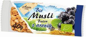 Baton Musli z Aronią Bio 40 g - Bio Ania