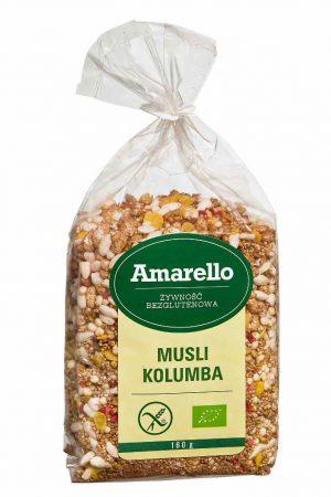 Musli Kolumba Bio 160 g - Amarello