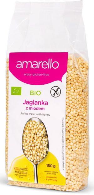 Jaglanka z Miodem Bio 150 g - Amarello