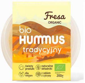 Hummus Tradycyjny Bio 200 g - Fresa Organic