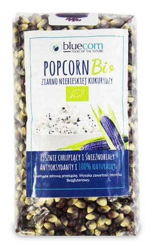 Ziarna Popcornu z Niebieskiej Kukurydzy Bio 350 g - Popcrop