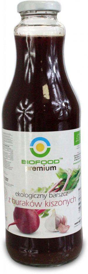 Barszcz z Buraków Kiszonych 500 Ml - Bio Food
