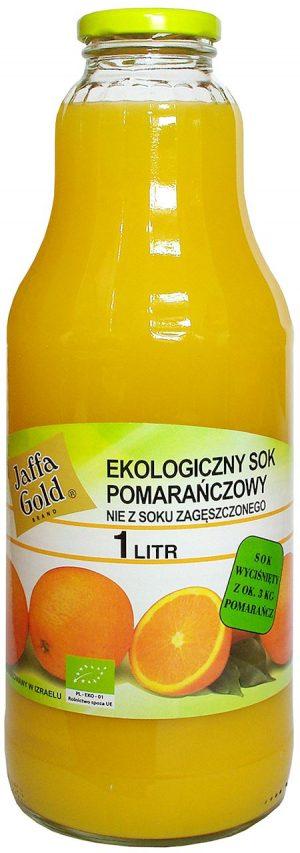Sok Pomarańczowy Bio 1 l - Jaffa Gold