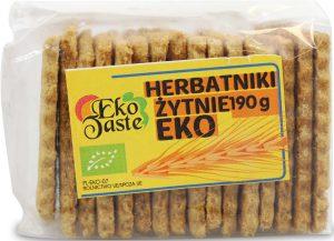 Herbatniki Żytnie Bio 190 g - Eko Taste