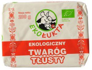 Twaróg Tłusty Bio 200 g - Eko Łukta